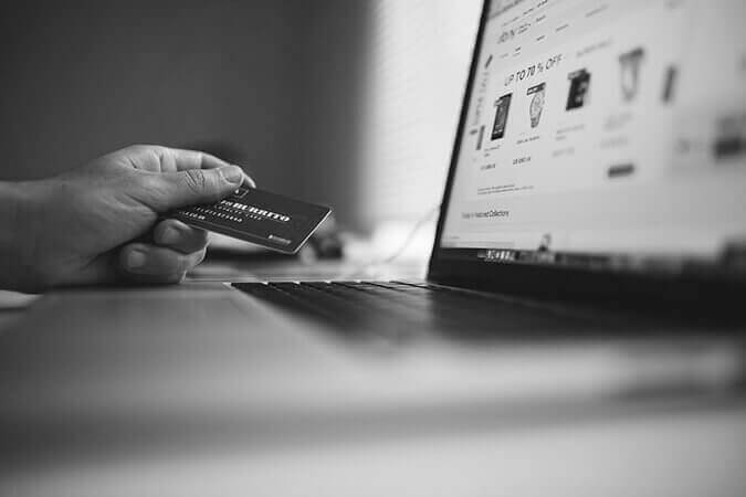 eCommerce marketing, shopping online