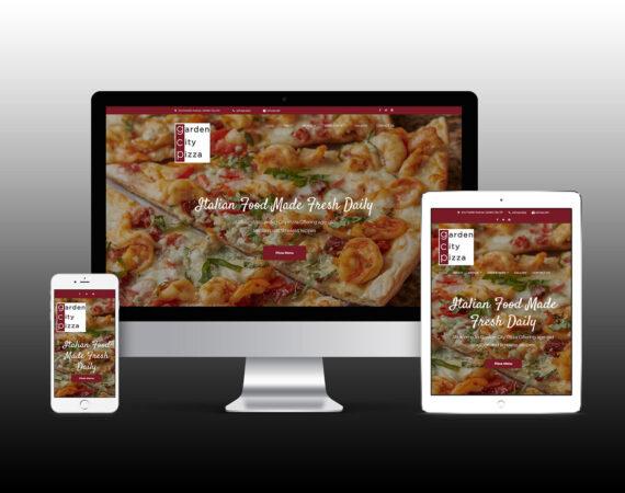 Garden City Pizza Responsive Website