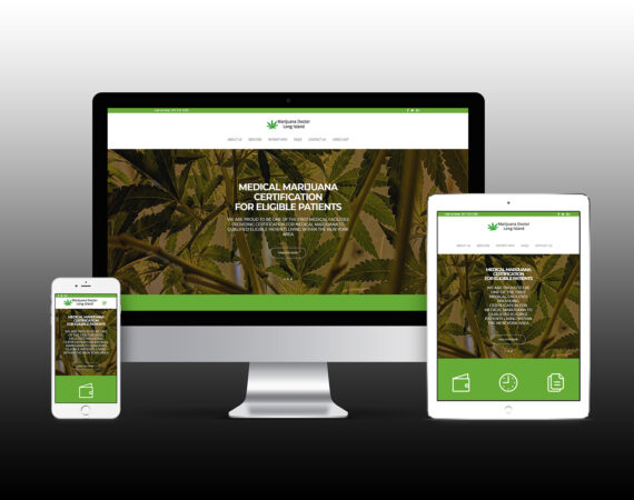 Marijuana Doctor Long Island Responsive Website