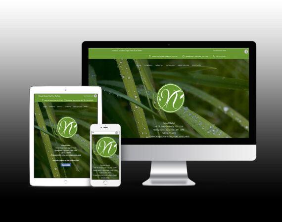 Natural Market Supermarket website