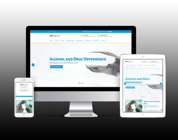 NY Detox Now Website