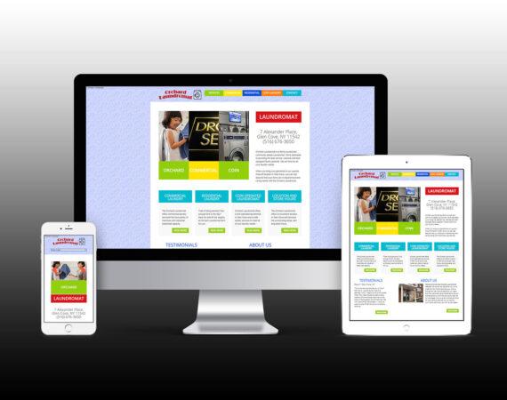 Orchard Laundromat Website