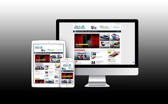 Smart Phone Deals Website