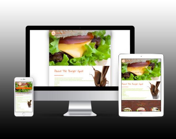 The Burger Spot Online Website