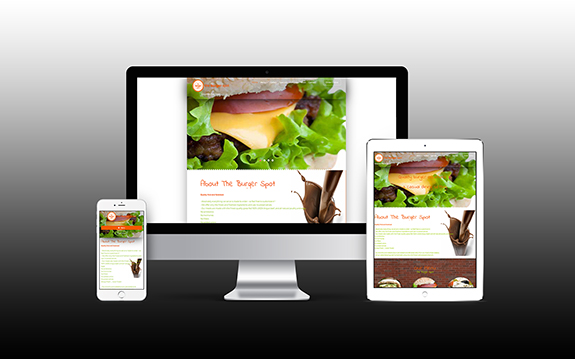 The Burger Spot Website
