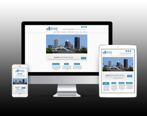 Upstate Property Investors Responsive Website