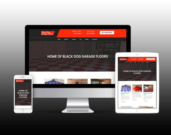 Black Dog Garage Floors Website