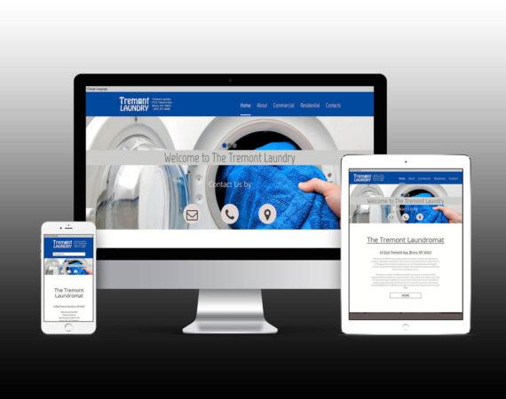 Tremont Laundry Website