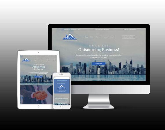 Zenov-BPO Website